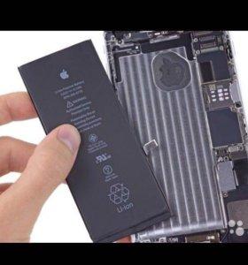 Замена батарейки iPhone 6