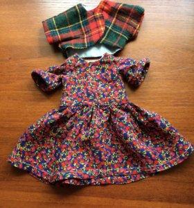 Комплект одежды для кукол на 30-34см