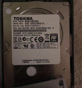 Внутренний накопитель Toshiba 500 гб