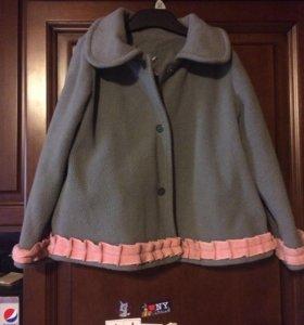 Пальто с юбкой 116