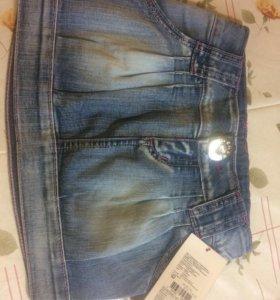 Юбка джинсовая 116