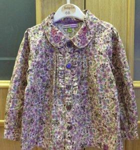 Рубашка(блузка) на девочку, 2г