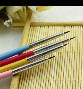 Кисть для дизайна ногтей