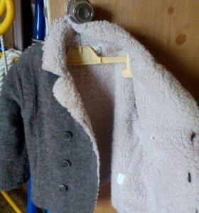 Детское полу пальто