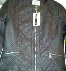 Куртка кож Новая!