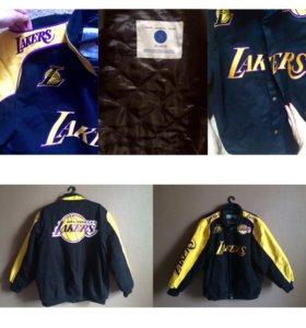 Оригинальная куртка LA LAKERS