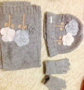 Mayoral (шапочка, шарф и перчатки