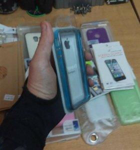 Плёнки, чехлы и бампера на мобильные устройства