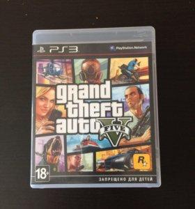 Продаю GTA 5 на PS3