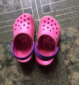 Crocs детские сланцы