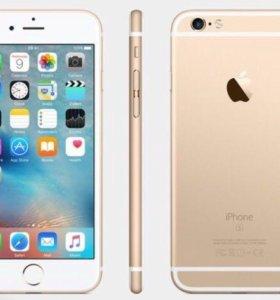 Айфон 6S(золотой)