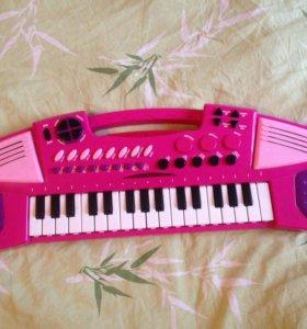 Детский синтезатор - пианино
