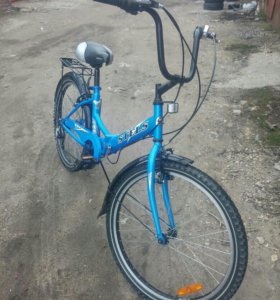 Велосипед Стелс складной