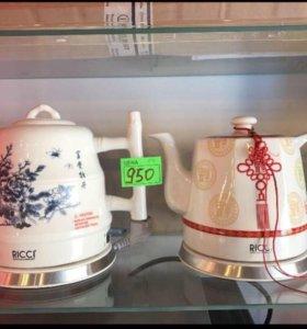 Чайник RICCI TC-826 пионНОВЫЙ!