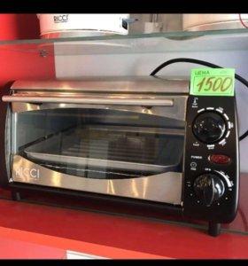 Мини-печь RICCI TO-10BTQS новая!