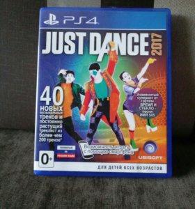 Игра для ps4 Just dance 2017
