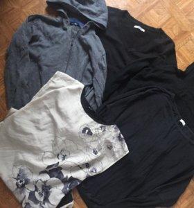 Пакет кофт и водолазок платье