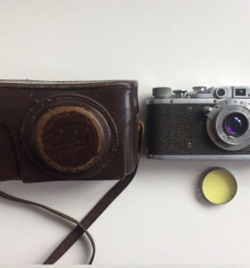 """Фотоаппарат """"фэд"""" послевоенный"""