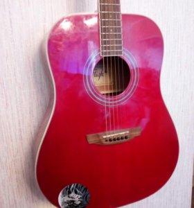 Гитара акустическая, с металическими струнами