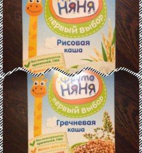 Каши Фрутоняня и Heinz