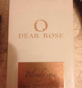Туалетная вода Dear rose Bloody rose