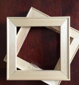Рамки подрамники деревянные новые