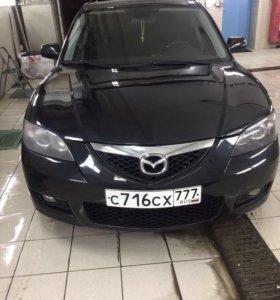 Mazda 3, I (BK) Рестайлинг, 2008, 1.6 л, АТ