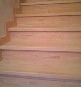 Изготовления лестниц деревянных от 7500₽ м п