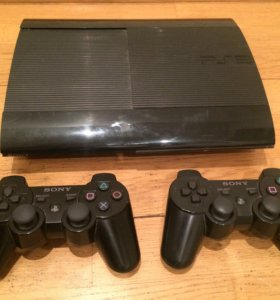 PlayStation 3 Slim 500gb + 14 дисков + геймпад