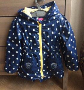 Ветровка куртка для девочки 98-104