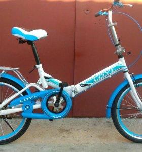 Детский складной велосипед