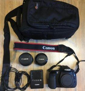 Canon 60d kit 18-55