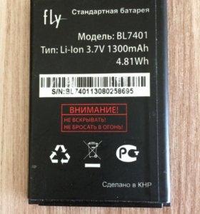 Аккумулятор (оригинал). Модель: BL7401 (70*45 мм)