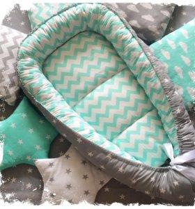 Кокон Гнездышко для новорождённого baby nest