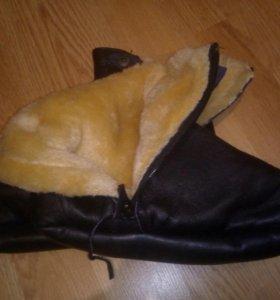 Меховые мужские носки