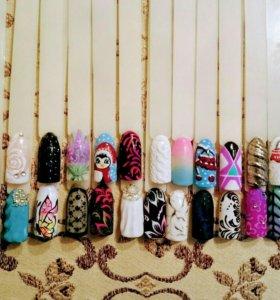 Маникюр/наращивание/дизайн ногтей