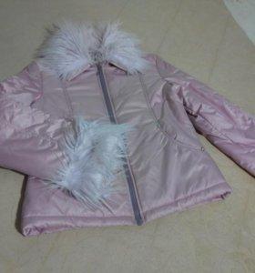 Комплект 44р. куртка+юбка, новая