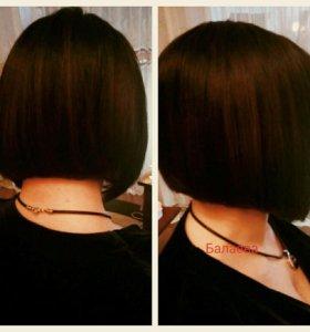 Стрижка и окрашивание волос ,любой сложности