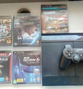 Playstation 3 500GB +11 игр
