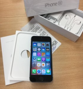 iPhone SE Space Grey 16 Gb