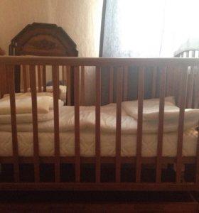 """Детская кроватка """"Лель""""."""