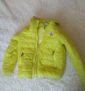Куртка детская монклер