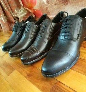 Кожаная обувь,по низким ценам