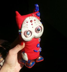 Домашний оберег, интерьерная кукла игрушка подарок