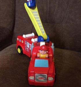 Пожарная машина kinderland
