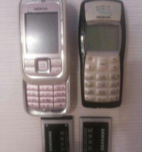 Телефоны и акамуляторы