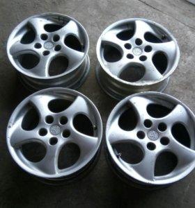 Диски литые Тойота R16