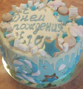 Праздничные тортики