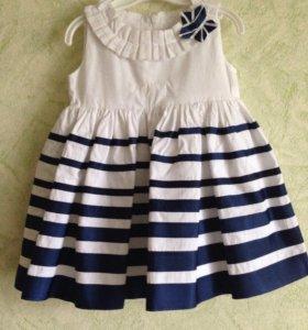 Платье рост 74