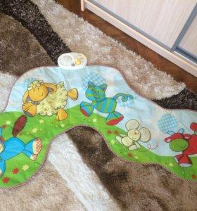 Детский музыкальный коврик